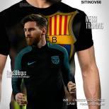 Kaos BLAUGRANA, Kaos Messi Fans, Kaos 3D Lionel Messi, Kaos Barcelona