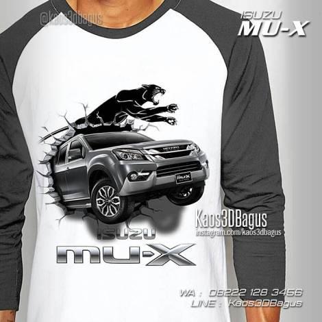 Kaos Mobil Isuzu, Kaos Klub Mobil Indonesia, Kaos3D Gambar Mobil
