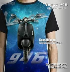 Kaos VESPA 946 Emporio Armani - Kaos3D VESPA - Motor