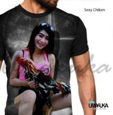 Grosir Kaos AYAM JAGO - Sexy Chicken - Ayam Bangkok
