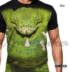 GROSIR KAOS ANIMAL - FPB Boa - Ular Reptil Snake