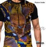 GROSIR KAOS ANIMAL - Phyton Snake - Ular Reptil
