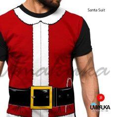 GROSIR KAOS 3D Seragam Sinterklas - Santa Suit