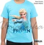 KAOS ANAK FROZEN - Kaos ELSA - Grosir Kaos Karakter - New Frozen