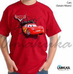 KAOS Cars McQueen - Kaos ANAK - Grosir Kaos Karakter